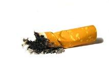 Het uiteinde van de sigaret Stock Foto's