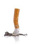 Het uiteinde van de sigaret royalty-vrije stock foto