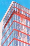Het uiteinde van een modern gebouw Royalty-vrije Stock Foto