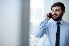 Het uitnodigen van telefoon Stock Foto