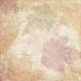 Het uitstekende Achtergrondcollagedocument - Autumn Leaf Watercolor - verontrustte - Neutrale Daling - - Digitaal Document royalty-vrije stock afbeeldingen