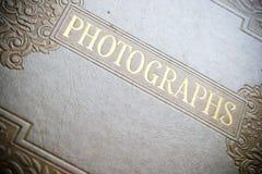 Het uitstekende Album van de Foto Stock Afbeelding