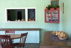 Het uitstekende Bakkerij Dineren Royalty-vrije Stock Afbeeldingen