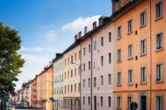 Het uitstekende buildiing van La Chaux DE Fonds, Zwitserland stock fotografie