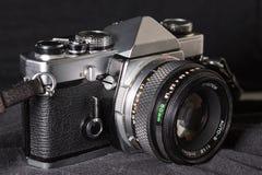 Het uitstekende close-up van de filmcamera Stock Foto