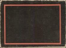 Het uitstekende document van de textuurrand, achtergrond Stock Afbeeldingen