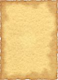Het uitstekende Document van het Perkament Royalty-vrije Stock Foto