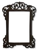 Het uitstekende frame van de metaalfoto Stock Foto