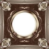 Het uitstekende frame van het metaal Stock Illustratie