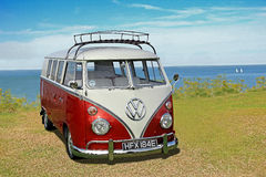 Het uitstekende gespleten scherm Volkswagen Royalty-vrije Stock Afbeeldingen