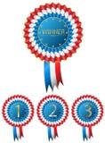 Het uitstekende Kenteken van de Winnaartoekenning Stock Afbeelding