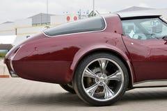 Het uitstekende Korvet C2 van sportwagenchevrolet stock afbeelding