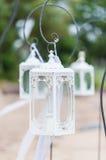 Het uitstekende lantaarn hangen   royalty-vrije stock afbeelding
