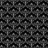 Het uitstekende Naadloze Patroon van het Behang Stock Fotografie