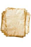 Het uitstekende oude document van Grunge. Royalty-vrije Stock Foto