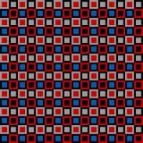 Het uitstekende Patroon van Vierkanten Stock Afbeeldingen
