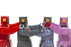 Het uitstekende speelgoed van de tinrobot Stock Fotografie