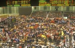 Het uitwisselen van Vloer van de Raad van Chicago van Handel, Chicago, Illinois Royalty-vrije Stock Fotografie