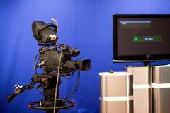 Het uitzenden camera Stock Foto's