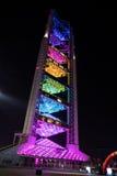 Het uitzenden Toren in het Olympische Dorp van Peking stock fotografie