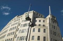 Het Uitzenden van het BBC Huis Royalty-vrije Stock Foto's