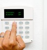 Het uitzetten van Airconditioning Stock Fotografie