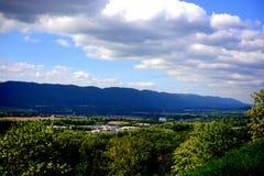 Het uitzicht en de wegen van Pennsylvania stock afbeeldingen