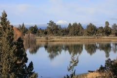 Het Uitzicht van de Berg van de cascade royalty-vrije stock fotografie