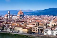 Het uitzicht van Florence royalty-vrije stock afbeelding
