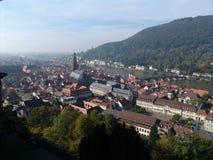 Het Uitzicht van Heidelberg royalty-vrije stock foto