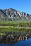 Het Uitzicht van Wyoming langs Belangrijkst Joseph Scenic Byway stock afbeelding