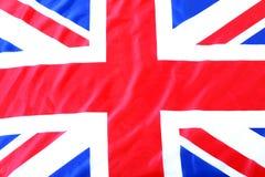 het UK, Britse vlag Royalty-vrije Stock Afbeelding