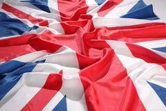 het UK, Britse vlag Royalty-vrije Stock Fotografie