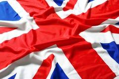 Britse vlag, Union Jack Royalty-vrije Stock Foto