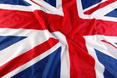 het UK, Britse vlag, Union Jack Royalty-vrije Stock Foto's