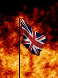 het UK in Oorlogstijd Royalty-vrije Stock Fotografie