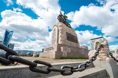 Het ulaanbaatar kapitaal van Mongolië Royalty-vrije Stock Foto's