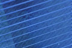 Het ultra blauwe rooster van de Staalgrond Roestvrij staaltextuur, achtergrond voor website of mobiele apparaten royalty-vrije stock afbeelding