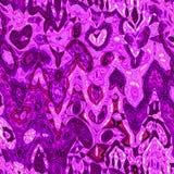 Het ultraviolet en purple blured golvend onregelmatig patroon stock illustratie
