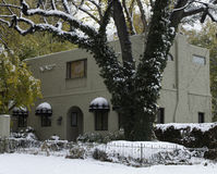 Het unieke Huis van de Gipspleisterluxe Stock Foto