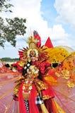 Het unieke Kostuum van Bali Royalty-vrije Stock Foto