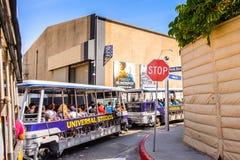 Het universele Park van Studio'shollywood, Los Angeles, de V.S. Stock Afbeelding