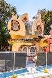 Het universele Park van Studio'shollywood, Los Angeles, de V.S. royalty-vrije stock foto's