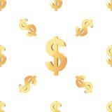 Het universele vector naadloze patronen betegelen financiën Stock Foto