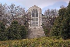 Het Universitaire Auditorium van de Ehwavrouw royalty-vrije stock foto