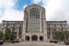 Het Universitaire Auditorium van de Ehwavrouw stock foto's