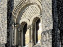 Het Universitaire hoofdgebouw vindow 2016 van Toronto Royalty-vrije Stock Afbeeldingen