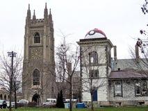 Het Universitaire Waarnemingscentrum en Militairentoren 2016 van Toronto Royalty-vrije Stock Fotografie