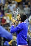 Het US Open 2015 van Djokovicnovak (15) Royalty-vrije Stock Fotografie