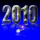 Het uur 2010 van de aarde Royalty-vrije Stock Fotografie